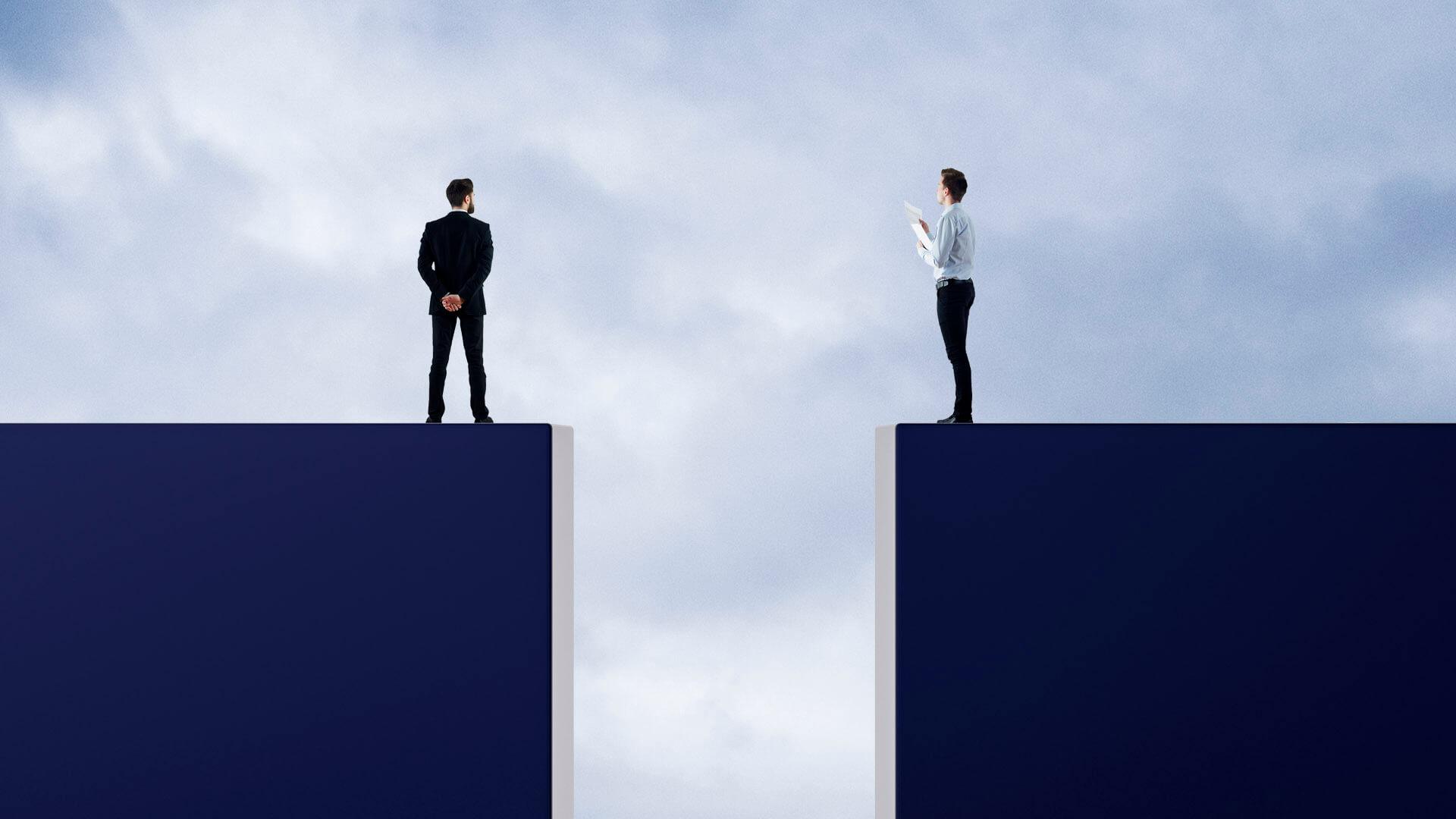 Buyer-seller-gap